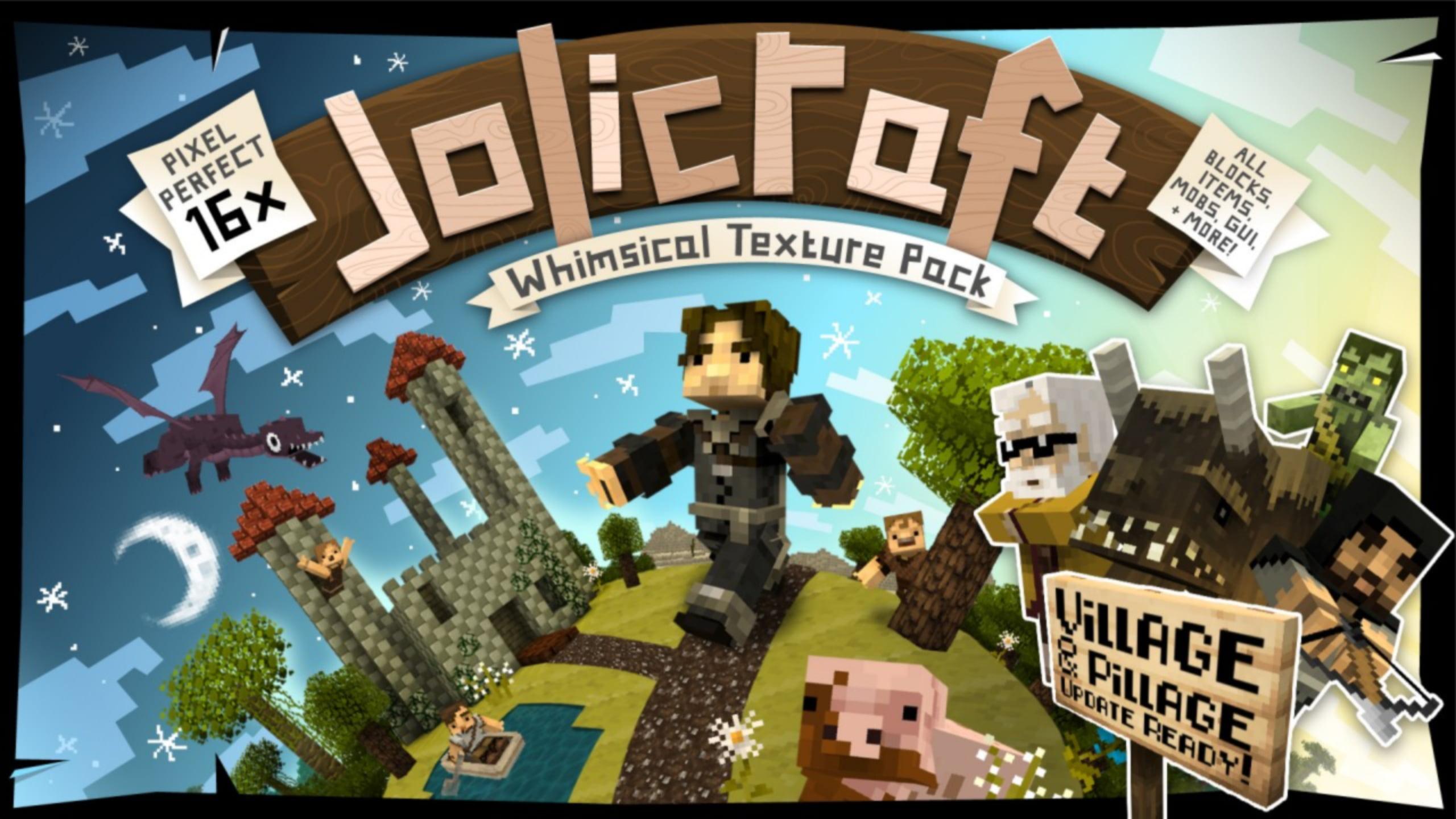 JoliCraft - Paquete de texturas