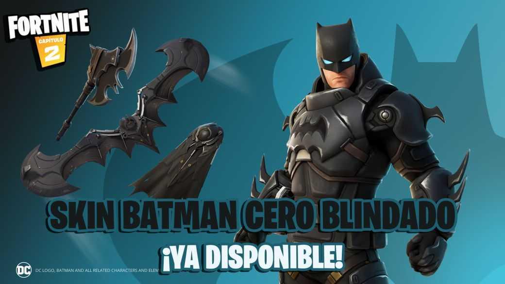Fortnite : Skin Zero Armored Batman Maintenant En Magasin ;