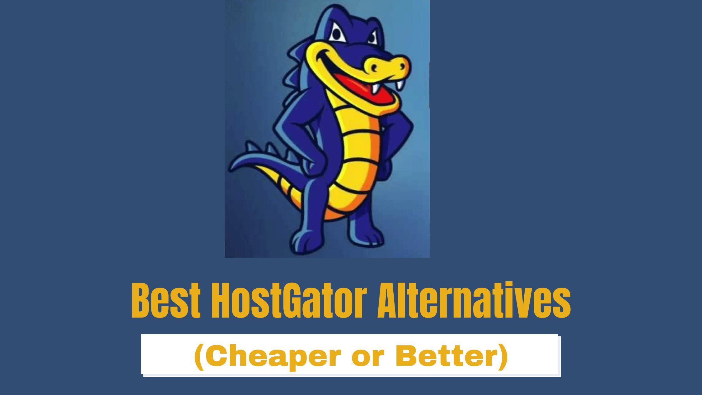 Las 6 mejores alternativas de HostGator en 2021 [#1 Is A Steal]