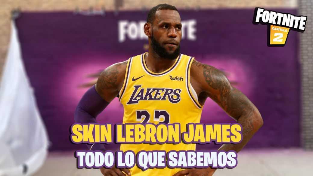 LeBron James arrive sur Fortnite en tant que skin;  Tout ce que nous savons