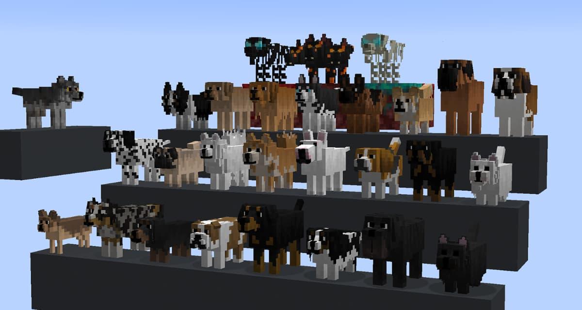 Better Dogs – Pack de Textures  1.8 → 1.16