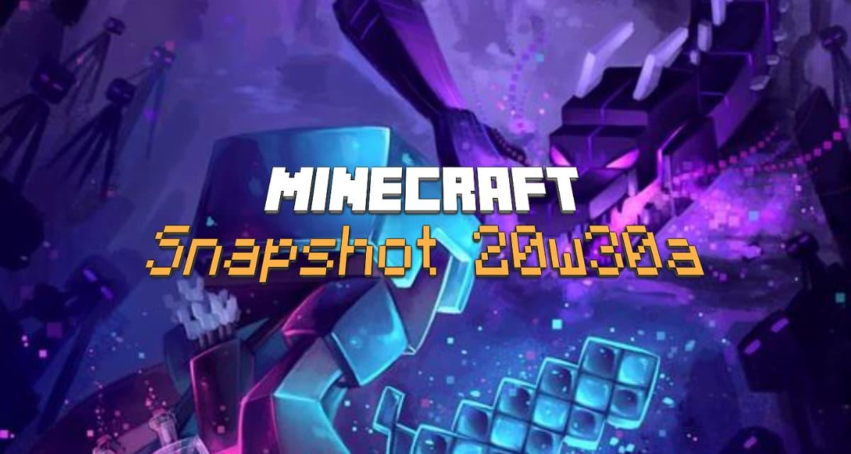 Snapshot 20w30a : Minecraft 1.16.2