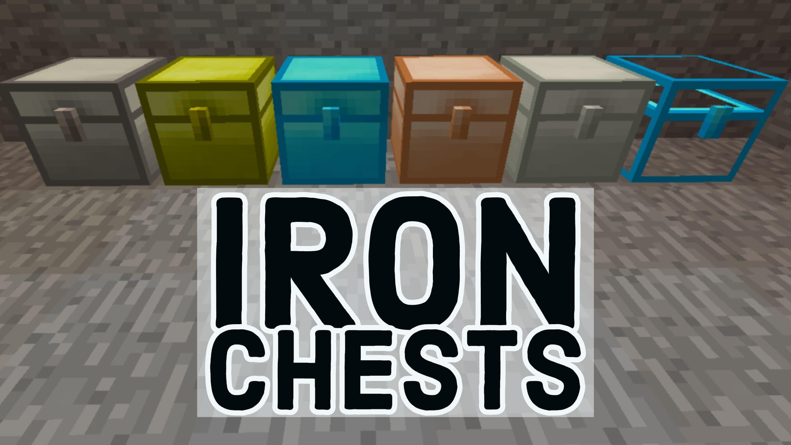 [Mod] Cofres de hierro - 1.7.10 → 1.16.5 • Minecraft.fr