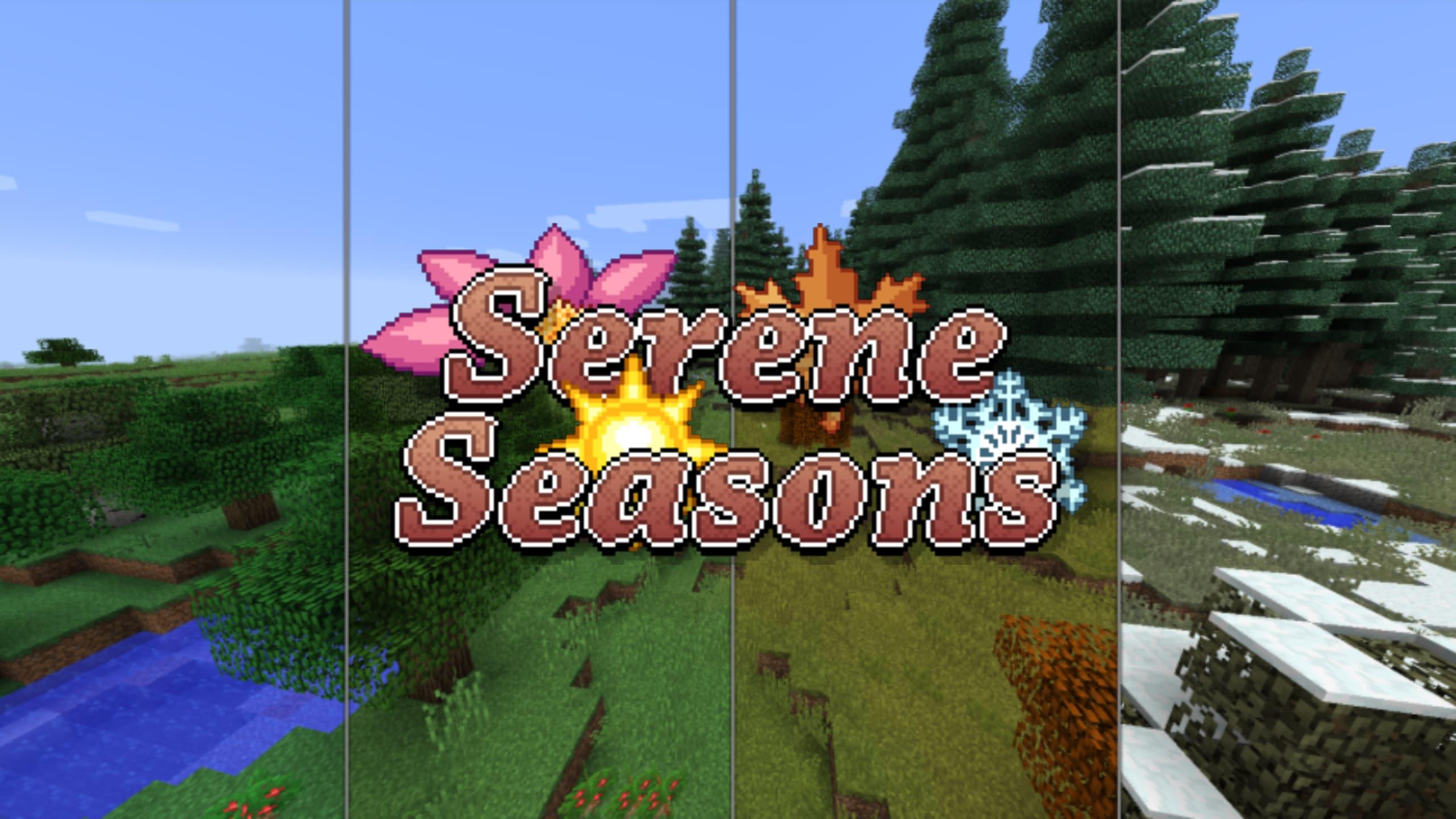 ☔️ [Mod] Temporadas tranquilas - 1.12.2 → 1.16.5 • Minecraft.fr