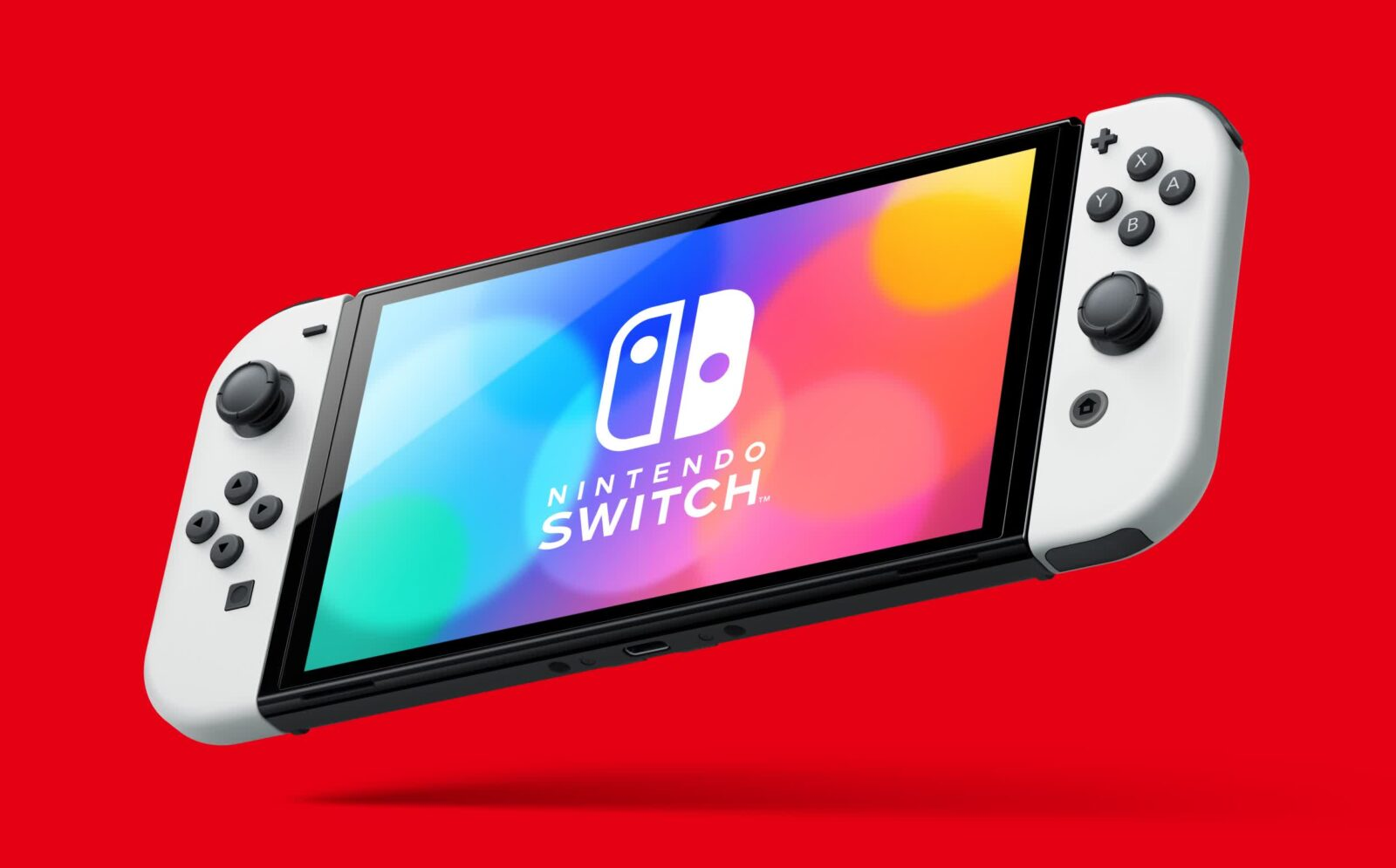 Nintendo announces updated Switch with a larger OLED display, 64GB of storage, improved audio, and more