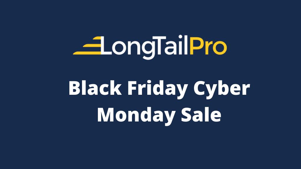 Oferta de Black Friday de Long Tail Pro 2021 [Avail 50% OFF Deals]
