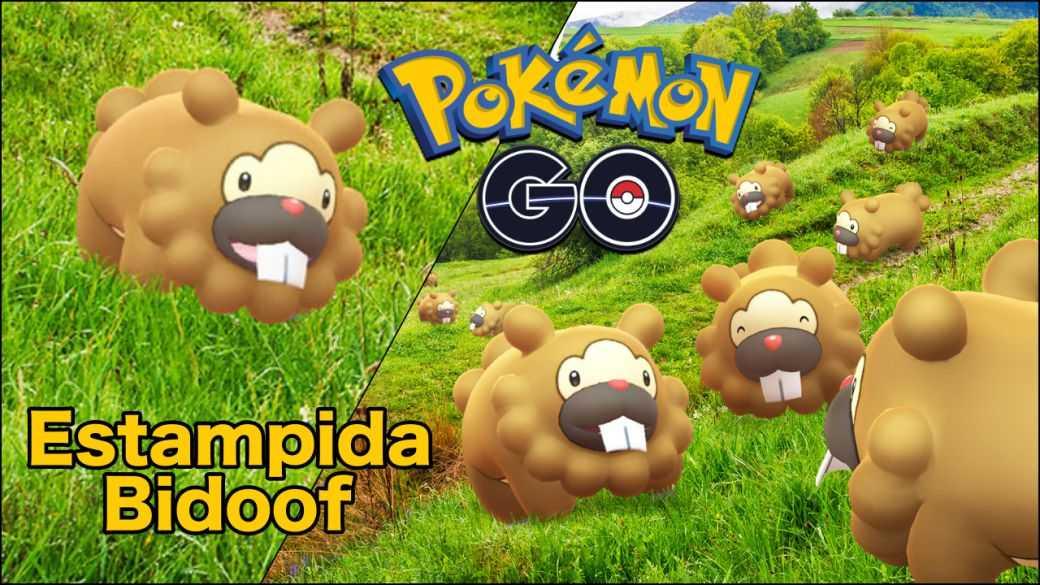 Pokémon GO - Évènement de la débandade de Bidoof