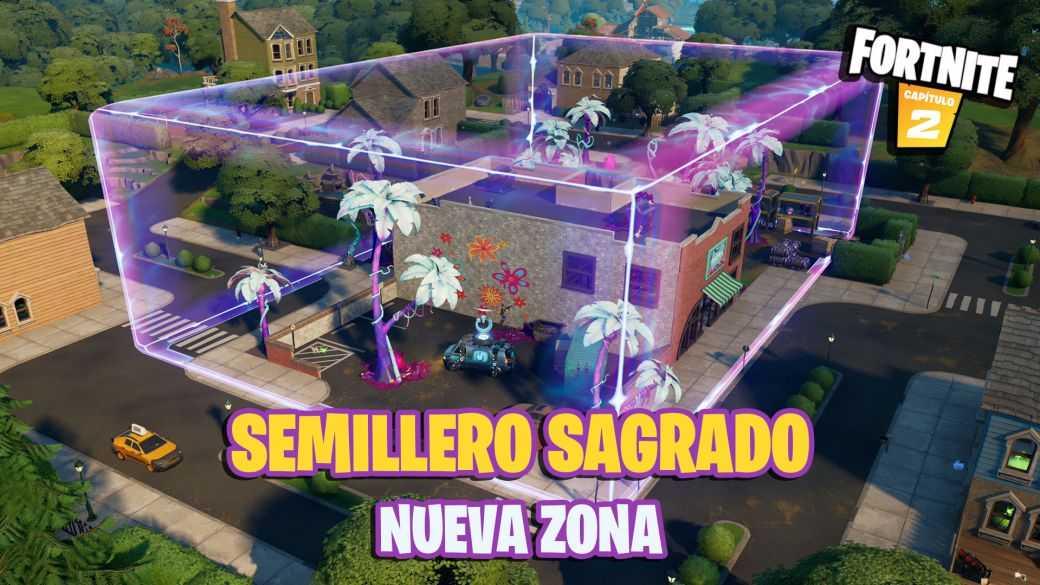 Fortnite : Sacred Hedges devient Sacred Hotbed ;  c'est le nouveau quartier