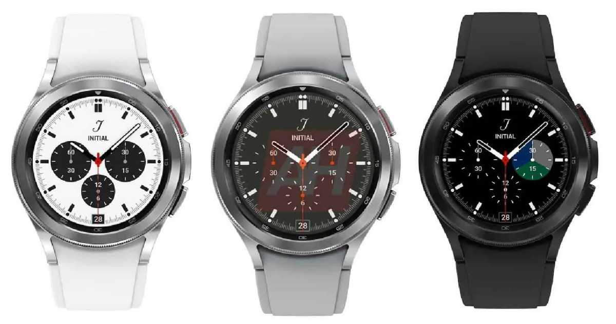 """Le Samsung Galaxy Watch4 """"Classic"""" fuit dans les photos officielles avec un design plus simple et une lunette tournante"""