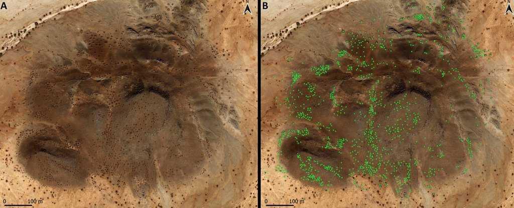 Des «motifs Galactiques» Se Trouvent Dans D'anciennes Tombes Islamiques