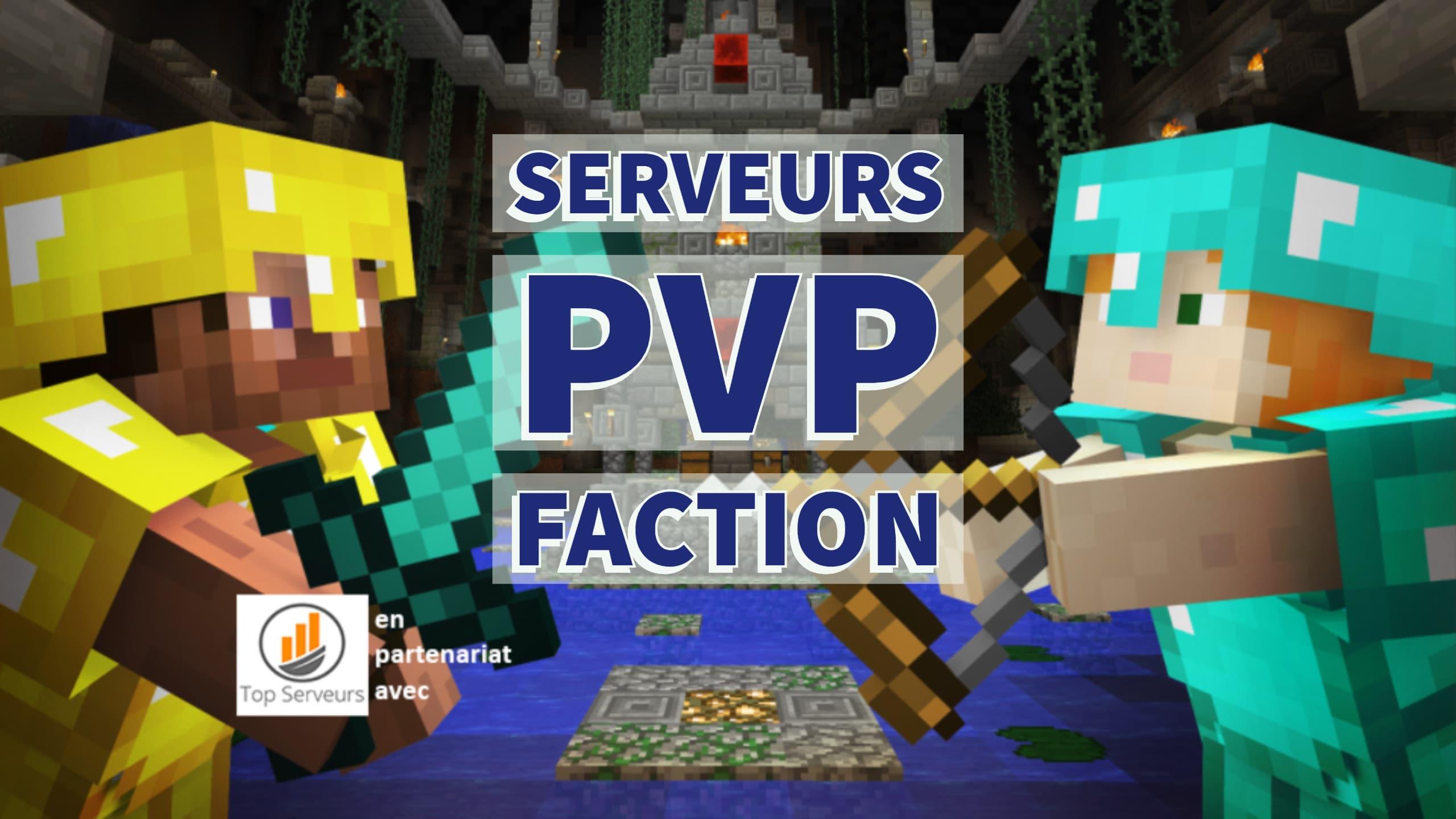 🥇 Servidor de facciones Pvp de Minecraft