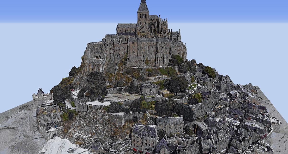 Un joueur a converti les données de Google Earth dans Minecraft