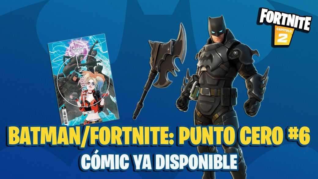 Batman x Fortnite Comic : Zero Point 6 maintenant disponible ;  où acheter et comment utiliser le code