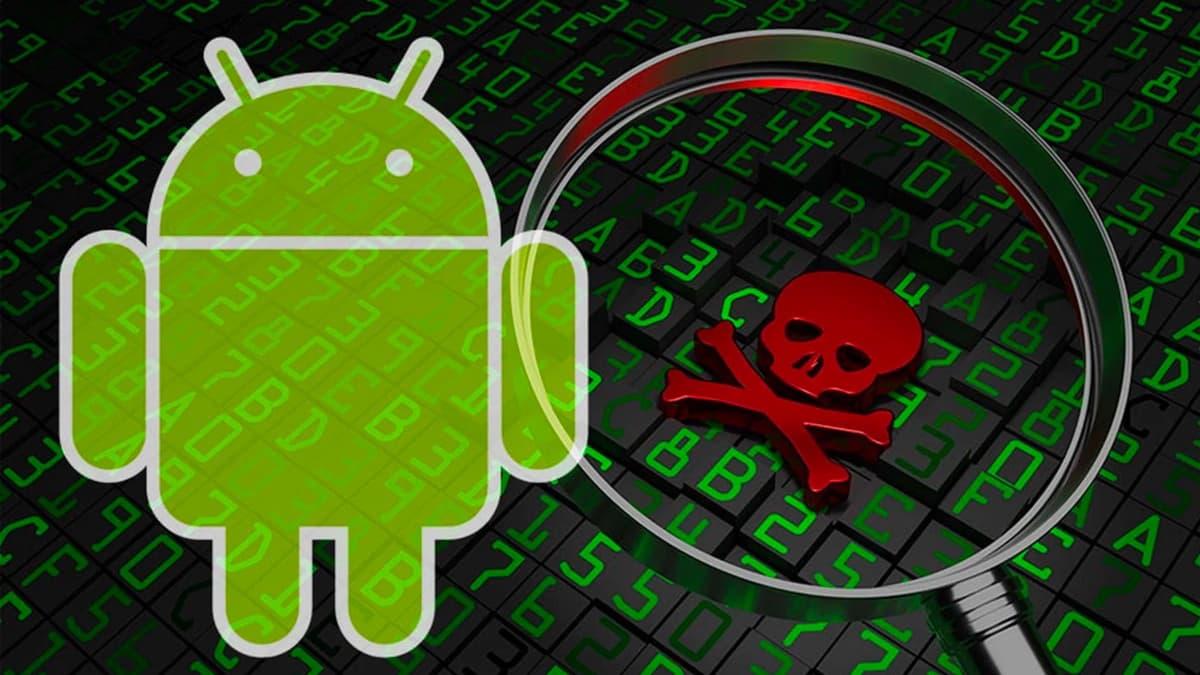 Ilustração de malware no Android para roubar passwords do facebook