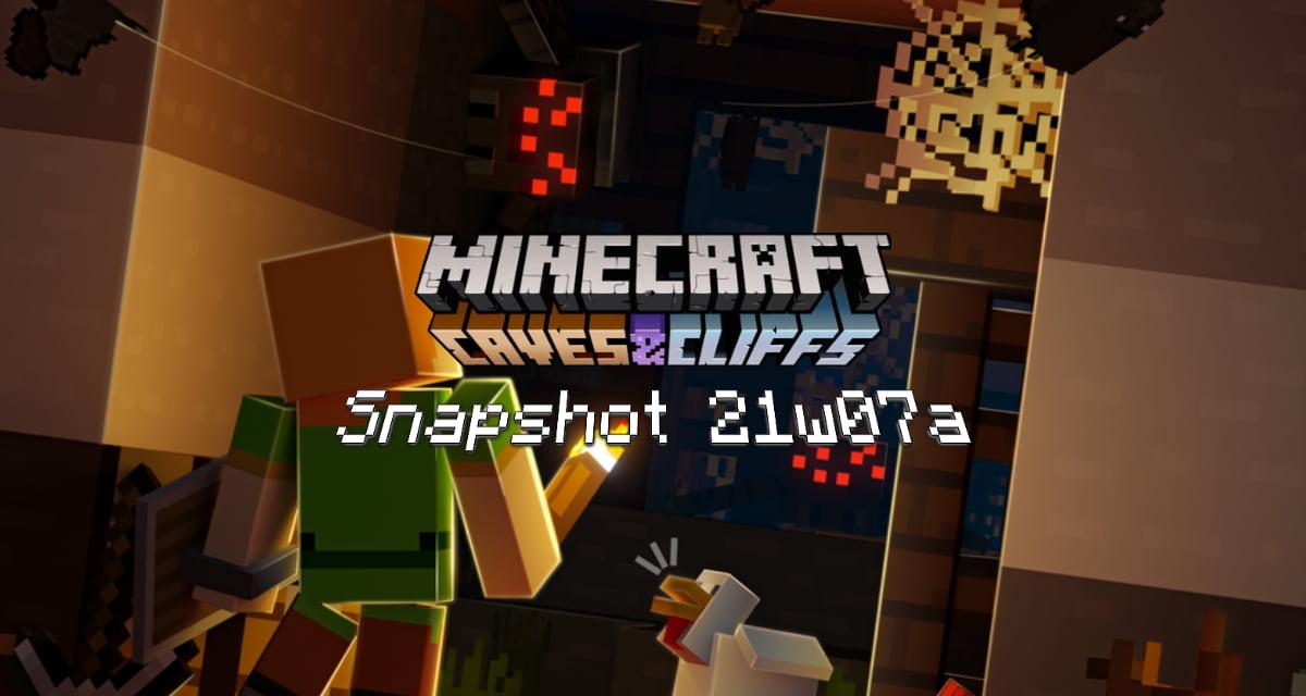 Snapshot 21w07a – Minecraft 1.17 : nouveau design pour le minerai et nouvelle roche